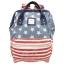 กระเป๋าเป้ Anello Canvas Limited USA (Standard) ผ้าแคนวาส ลาย USA thumbnail 1
