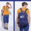 กระเป๋าเป้ MCYS&JPN Tide sign ( มี 6 สี ) thumbnail 17