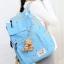 Girl's youth style backpack เซ็ต 3 ชิ้น แถมฟรีพวงกุญแจ (สีชมพู) thumbnail 16