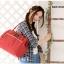 Anello Shoulder Bag กระเป๋าถือ/คล้องไหล่ สี Dark Orange thumbnail 4