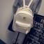 กระเป๋าเป้ผู้หญิง Sweet pastel สีชมพู ขาว ดำ thumbnail 12