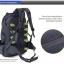 กระเป๋าเป้ ฺBackpack Mountaineering Hiking 50ลิตร thumbnail 11