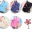 Girl's youth style backpack เซ็ต 3 ชิ้น แถมฟรีพวงกุญแจ (สีชมพู) thumbnail 23