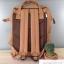 กระเป๋าเป้ Anello Leather Camel beige (Standard) หนัง PU กันน้ำ thumbnail 3