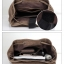 กระเป๋าเป้ Canvas vintage คุณภาพดี (สีน้ำตาลอ่อน) thumbnail 28