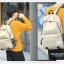 Simple color canvas bag (สีดำ) thumbnail 6