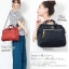 Large Anello Shoulder Boston Bag (สีดำ) thumbnail 5