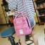 กระเป๋าเป้ Japan chic (กระเป๋าเป้สไตล์ญี่ปุ่น) สีชมพู thumbnail 6