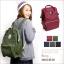 กระเป๋าเป้ Anello Canvas Khaki (Standard) ผ้าโพลีเอสเตอร์ กันน้ำ thumbnail 7