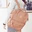 กระเป๋าเป้ Anello Leather Pink (Standard) หนัง PU กันน้ำ thumbnail 7