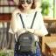 กระเป๋าเป้ผู้หญิง Flora bag สีดำ thumbnail 13