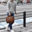 Large twoway Anello leather Shoulder Bag (สี Brown) thumbnail 2
