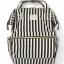 กระเป๋าเป้ Anello Stripe Black (Standard) thumbnail 1