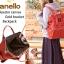 กระเป๋าเป้ Anello canvas Dark Orange (Mini) thumbnail 3