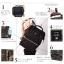 กระเป๋าเป้ Anello canvas black (Mini) AT-B0197 thumbnail 2