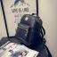 กระเป๋าเป้ผู้หญิง Sweet pastel สีชมพู ขาว ดำ thumbnail 3