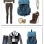 กระเป๋าเป้ Canvas Daypack สีดำ thumbnail 3