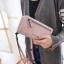 กระเป๋าสตางค์ผู้หญิง Crustal สี pure pink thumbnail 1