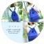 Bunny Drawstring bag (สีน้ำเงิน) thumbnail 3