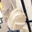 กระเป๋าเป้ผู้หญิง Sweet pastel สีชมพู ขาว ดำ thumbnail 8