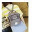 กระเป๋าเป้ Japan chic (กระเป๋าเป้สไตล์ญี่ปุ่น) สีเทา thumbnail 6