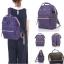 New!! กระเป๋าเป้ Anello Canvas Purple (Standard) สีม่วง thumbnail 4