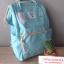 กระเป๋าเป้ Anello Canvas Sax (Standard) ผ้าโพลีเอสเตอร์แคนวาส กันน้ำ thumbnail 2