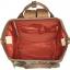 กระเป๋าเป้ Anello Canvas Limited Pineapple Ivory (Standard) ผ้าแคนวาส ลายสัปปะรด สีขาว thumbnail 5