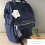 กระเป๋าเป้ Anello Leather Navy (Standard) หนัง PU กันน้ำ thumbnail 2