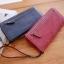 กระเป๋าสตางค์ผู้หญิง Crustal สี pure pink thumbnail 3