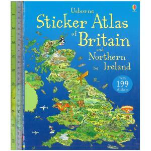 Sticker Atlas Britanin