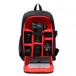 กระเป๋ากล้อง ถ่ายรูป เลนส์ CA003 ดำนอก-แดงด้านใน