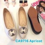 รองเท้าคัทชู ส้นแบน แต่งอะไหล่สวยเก๋ ทรงสวย หนังนิ่ม ใส่สบาย แมทสวยได้ทุกชุด (CA9716)