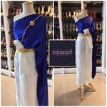 ชุดไทย ชุดไปงานแต่งงาน ชุดไทยเพื่อนเจ้าสาว ชุดไทยประยุกต์ สไบกับผ้าถุงสำเร็จรูป สีพาสเทล