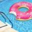 ห่วงยางเล่นน้ําแฟนซีโดนัสยักษ์ สีชมพู size 120 cm. thumbnail 5