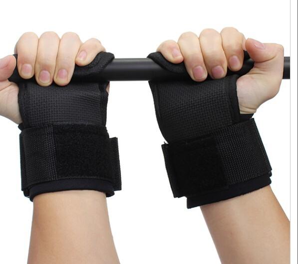 ถุงมือฟิตเนส โหนบาร์ ดึงข้อ สแตรปส์ (STRAPS)