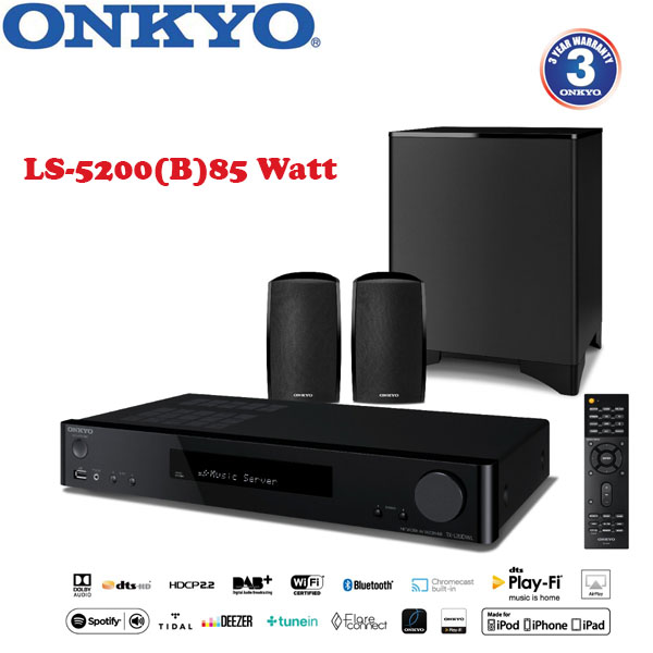 Onkyo Onkyo LS5200 2 1-Channel Home Cinema System